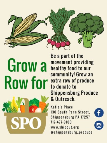 Grow a Row for SPO VEG 2